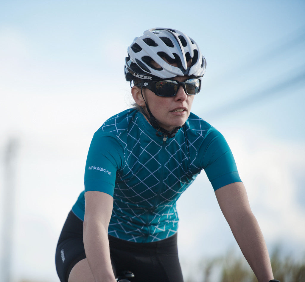 La Passione Women's Checked Ottanio Jersey | The CyclingTips Emporium - 4
