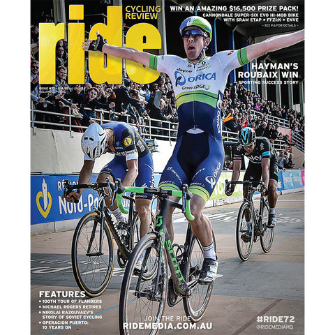 RIDE Cycling Review Magazine Subscription - 1 year New Zealand delivery