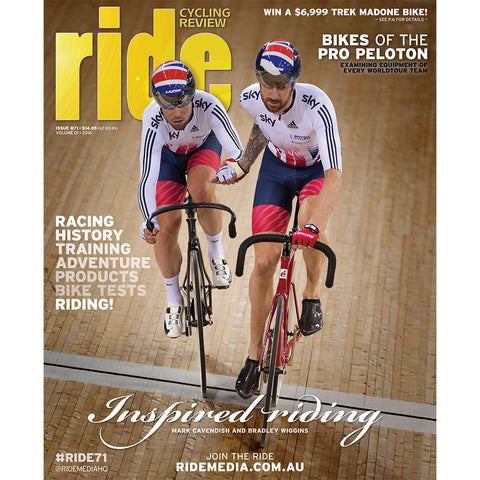 RIDE Cycling Review Magazine Subscription - 2 year Australia delivery
