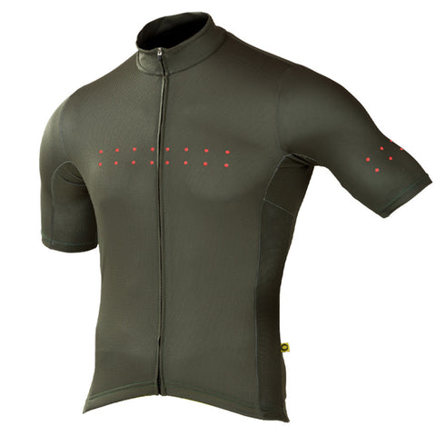 Pedla Olive Green Core Jersey | The CyclingTips Emporium - 1
