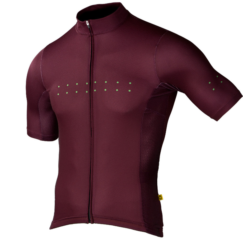 Pedla Plum Core Jersey | The CyclingTips Emporium - 1