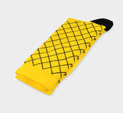 Checked Yellow La Passione Socks