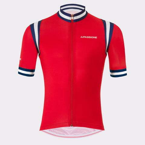 La Passione Red Summer Jersey | The CyclingTips Emporium - 1