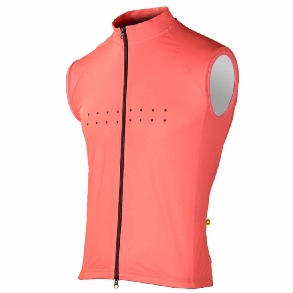 Pedla AquaDry Watermelon Waterproof Vest | The CyclingTips Emporium - 1