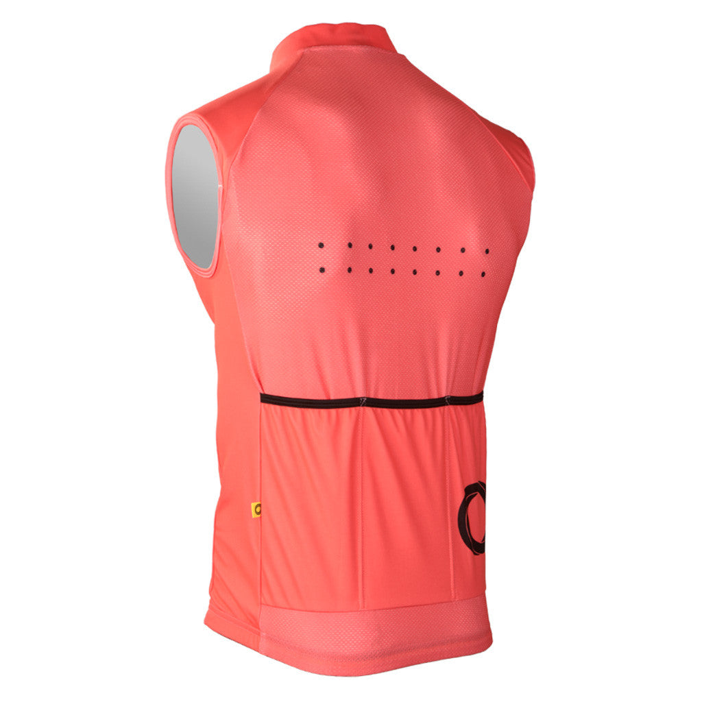 Pedla AquaDry Watermelon Waterproof Vest | The CyclingTips Emporium - 2