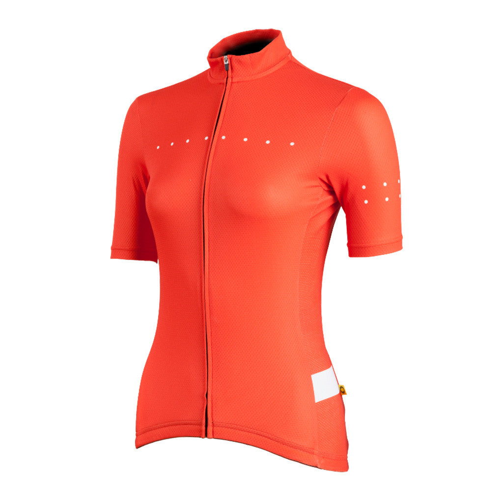 Women's Core Jersey Orange - Pedla | The CyclingTips Emporium - 1