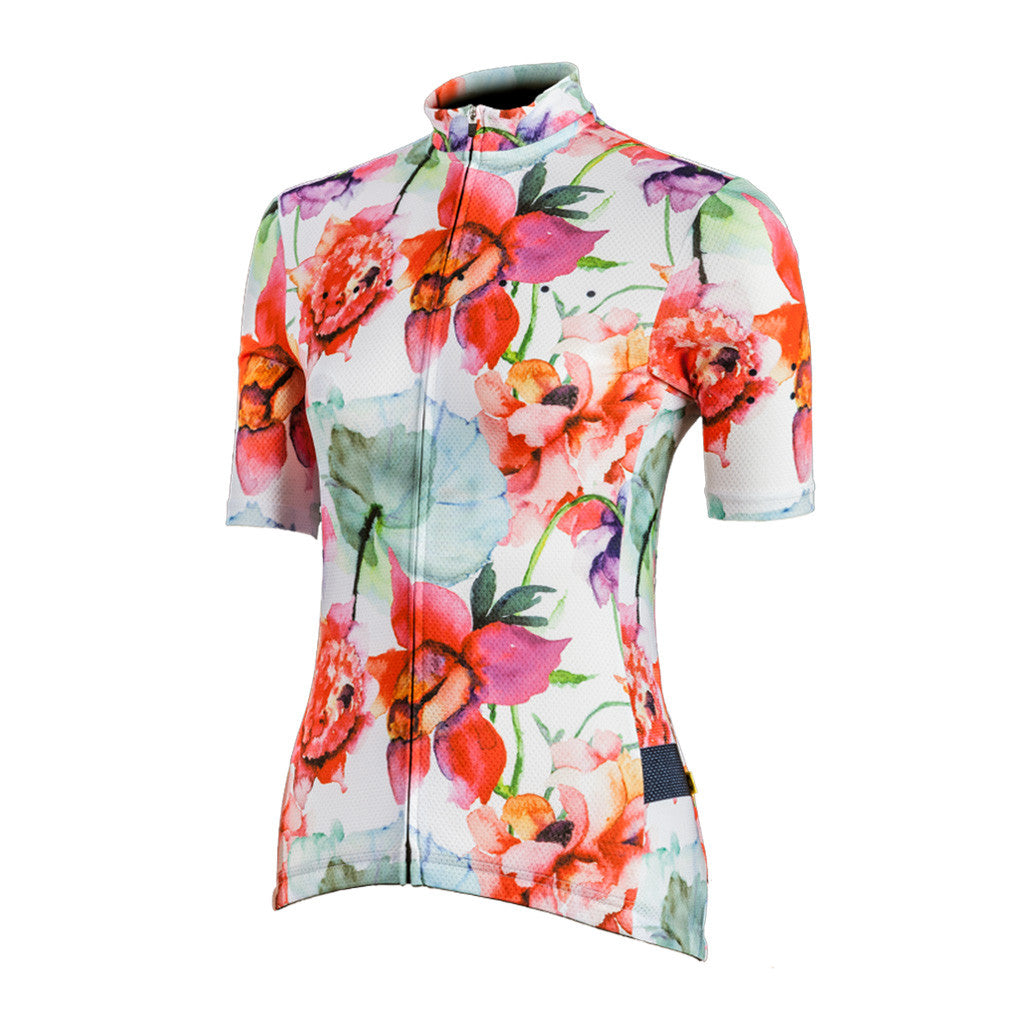 Women's Watercolour Jersey - Pedla | The CyclingTips Emporium - 1