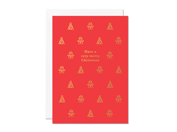Mixed Pack of Christmas Cards - pack of 6