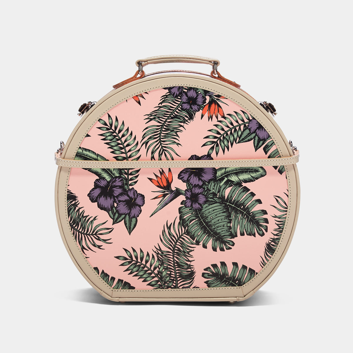 The Botanist - Pink Hatbox Large