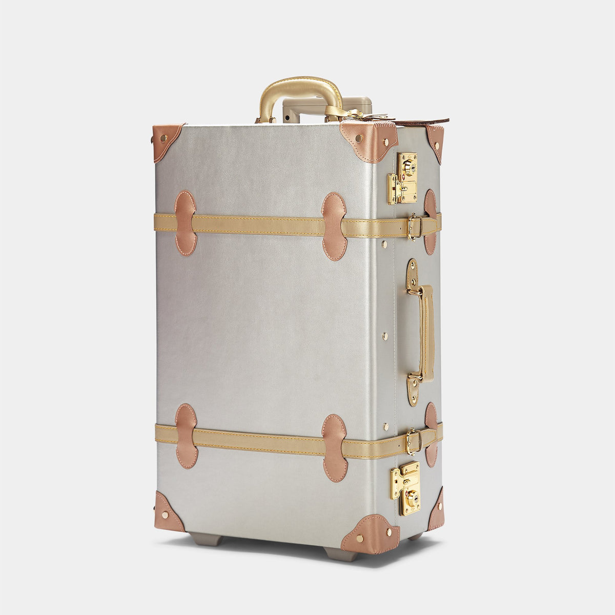 The Alchemist Stowaway - Retro-Style Cabin Luggage - Exterior Front