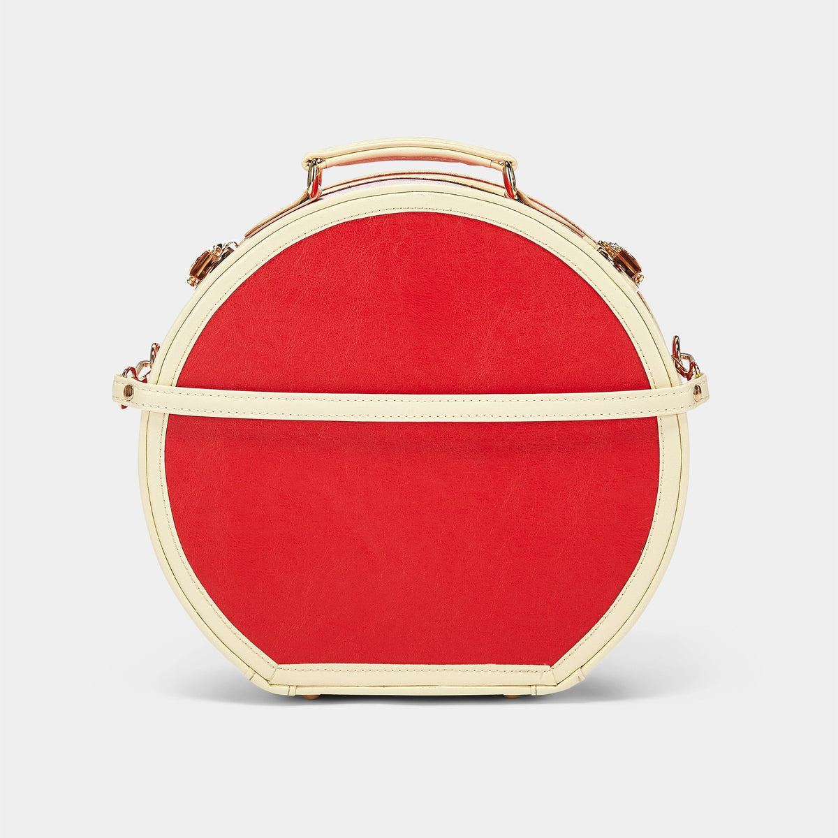 The Entrepreneur - Lip Print Small Hatbox