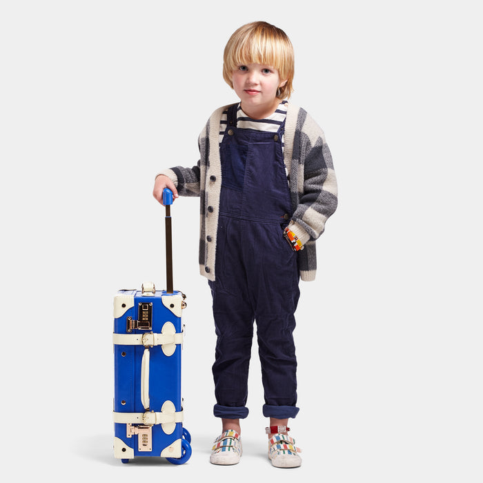 The Maisonette X Steamline - Blue Kids Carryon