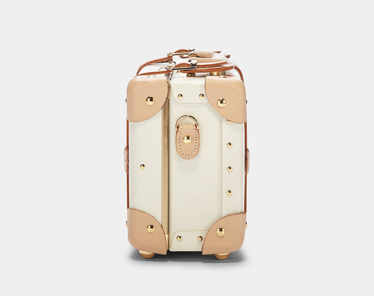 The Sweetheart Vanity - Vintage-Inspired Luggage - Exterior Side