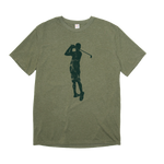The Olive Silhouette Tee
