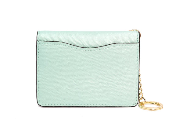 Mia Keychain Wallet Green