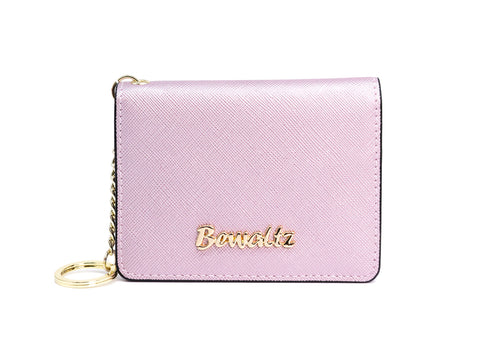 Mia Keychain Wallet Purple