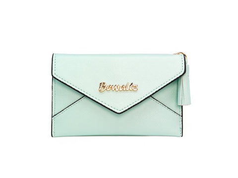 Charlotte Envelope Card Holder Green