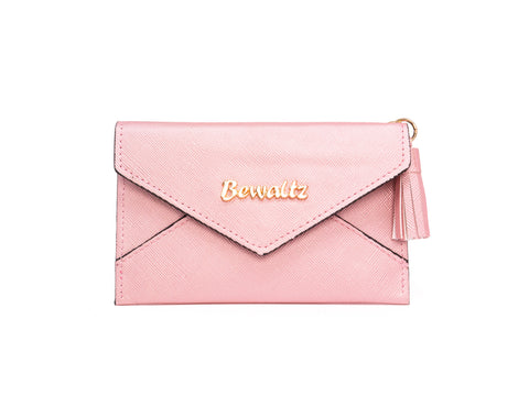 Charlotte Envelope Card Holder Pink