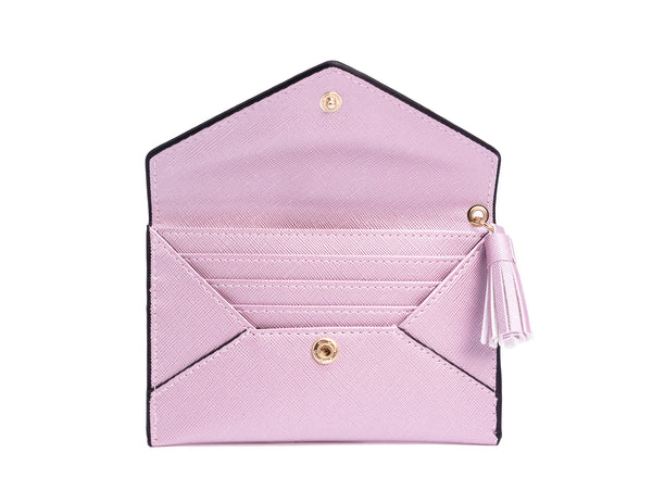 Charlotte Envelope Card Holder Purple