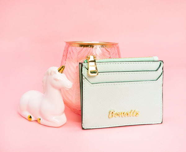 Scarlett Keychain Card Holder Tiffany Green
