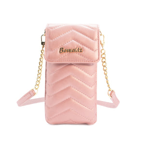 Mila Mini Phone Wallet Crossbody - Pink