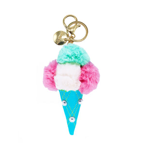 Pompom Ice Cream Cone Mint