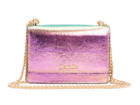 Stella Street Crossbody Bag - Iridescent Pink