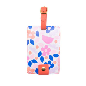 Luggage Tag - Paper Flowers