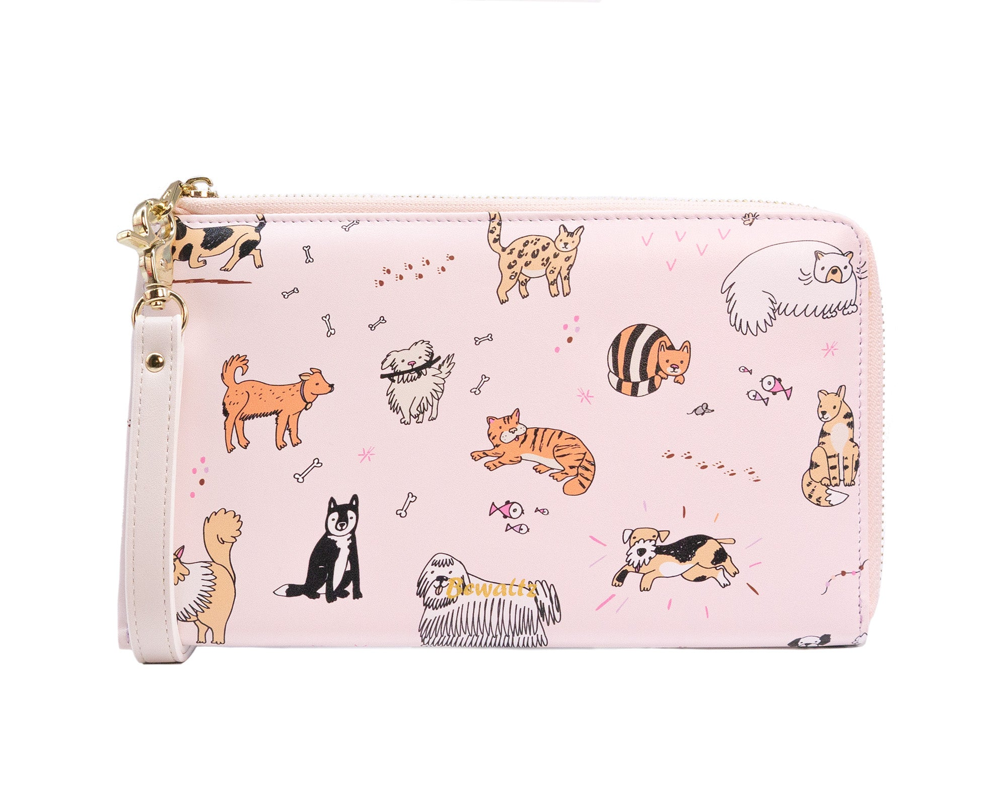 Travel Wristlet - Cats & Dogs