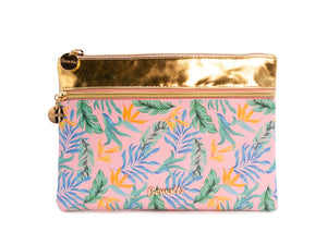 Tropical Florals Pouch