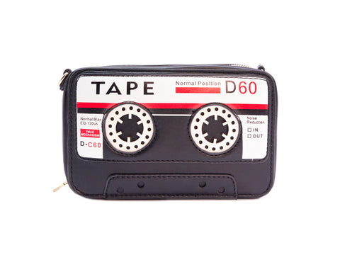 Play a Tune Cassette Tape Handbag