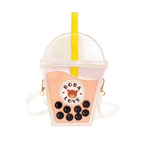 Bobalicious Milk Tea Handbag