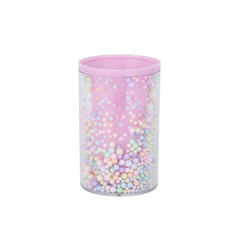 Candy Dots Stationery Pen Holder - Pink