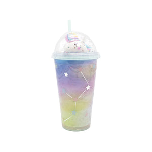 Magical Light-Up Unicorn Tumbler - Blue