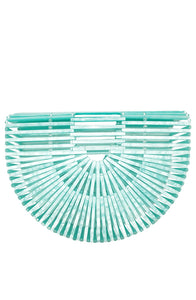 Fan Basket Bag Green