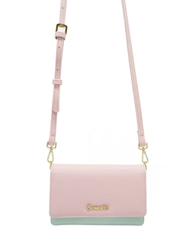 Bella Crossbody Phone Wallet - Pink