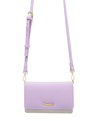 Bella Crossbody Phone Wallet - Purple
