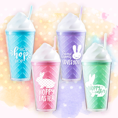 SPECIAL 2021 Easter Tumbler Set of 12, 3 Pieces per Color!
