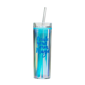 Holographic Tumbler - Blue Magic