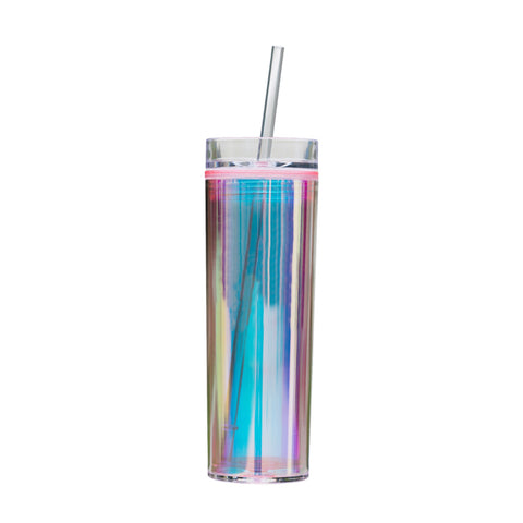Holographic Tumbler - Pink Blank