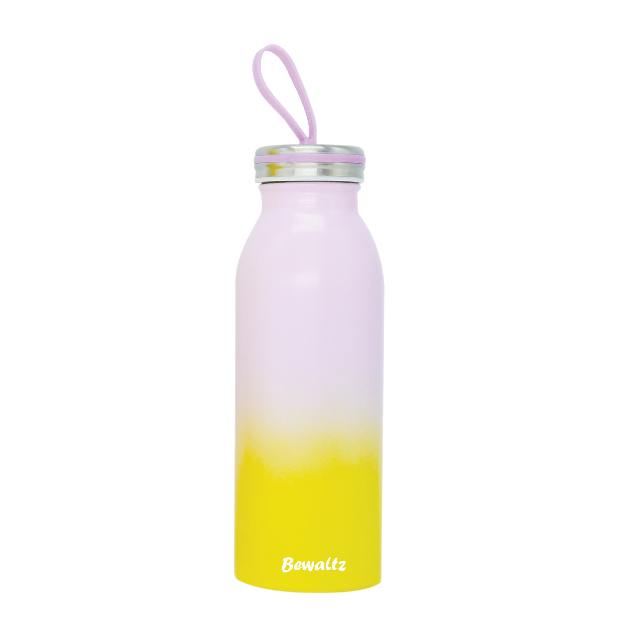 Stainless Steel Milk Bottle - Purple