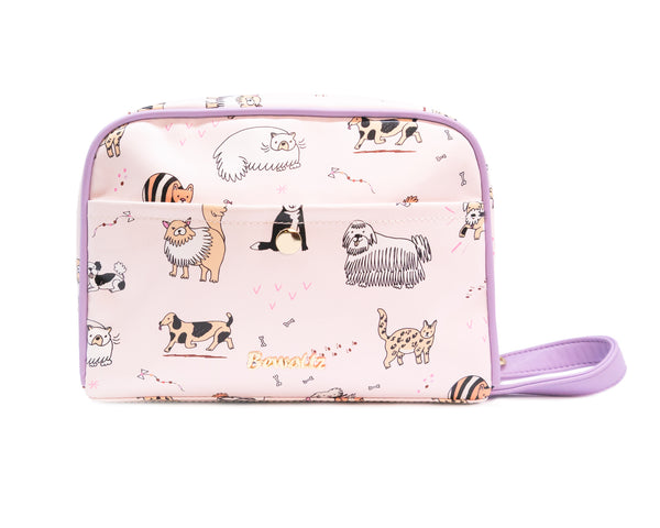 Toiletry Bag - Cats & Dogs