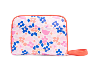 Toiletry Bag - Paper Flowers