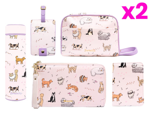 Travel Collection Set - Cats & Dogs (SET C)
