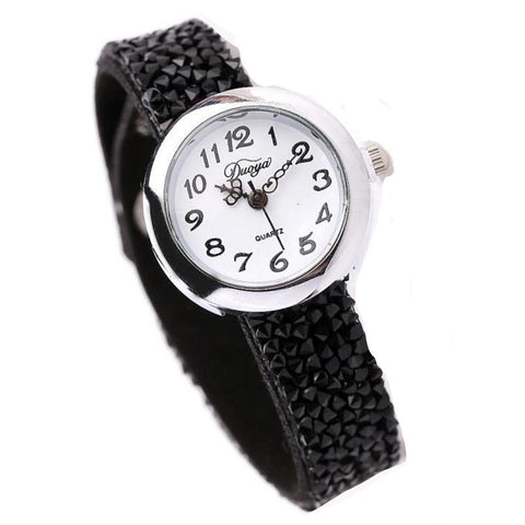Crystal Rhinestone Watches 5 Colors - ladyfashes