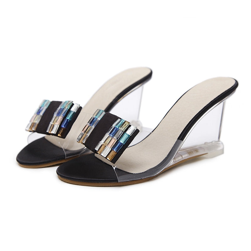0ce18b3feb66 Sandals Slippers High Heels 4 Colors - ladyfashes