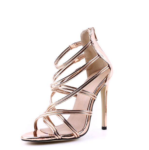 6434fb9fe40f High Heels Cross Straps 3 Colors - ladyfashes