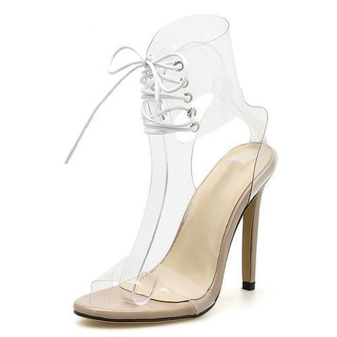 5fe3c72d1ebf Open Toed High Heels 11CM 2 Colors - ladyfashes