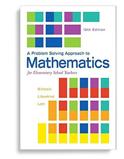 a problem solving approach to mathematics for elementary school teachers 12th edition ebook pdf