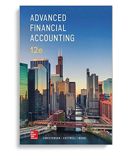 advanced financial accounting 12th edition by theodore christensen ebook pdf